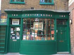 Stephen Foster shop photo