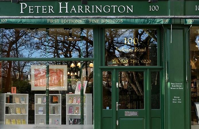 Peter Harrington shop photo