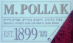 M Pollak Antiquariat shop photo